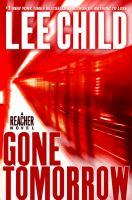 Gone tomorrow (#13 Jack Reacher) Book cover