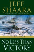 No less than victory : a novel of World War II Book cover