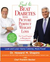 Eat & beat diabetes with picture perfect weight loss : the visual program to prevent and control diabetes Book cover