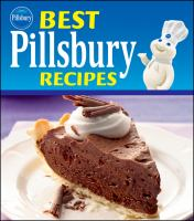 Best Pillsbury recipes Book cover