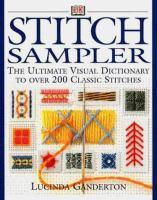 Stitch sampler Book cover