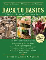 Back to basics : a complete guide to traditional skills Book cover