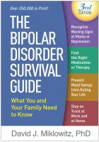 The bipolar disorder survival guide : what you and your family need to know  Cover Image