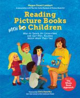Reading picture books with children :  how to shake up storytime and get kids talking about what they see   Cover Image